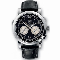 A. Lange & Sohne Datograph 404.035 Black Dial Watch