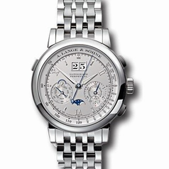 A. Lange & Sohne Datograph 410.425 Manual Wind Watch