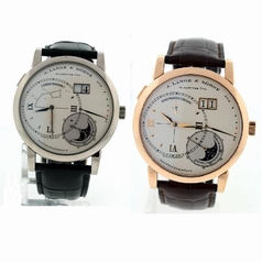 A. Lange & Sohne Grand Lange 1 119.026 and 119.032 Manual Wind Watch