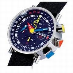 Alain Silberstein Krono Bauhaus II KT 301 P Mens Watch