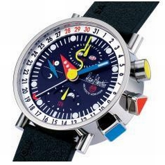 Alain Silberstein Krono Bauhaus II KT 303 P Mens Watch