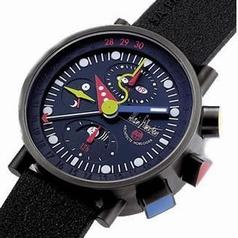 Alain Silberstein Krono Bauhaus II KT 401 B Mens Watch
