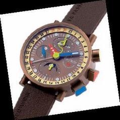 Alain Silberstein Krono Bauhaus II KT 402 B Mens Watch