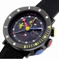 Alain Silberstein Marine MK 402 B Mens Watch
