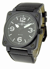 Bell & Ross BR01 BR-01-92-BLK-CAR-LS Automatic Watch