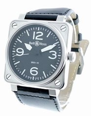 Bell & Ross BR01 BR-01-92-BLK-SCS Mens Watch