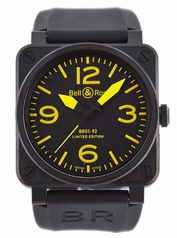 Bell & Ross BR01 BR-01-92-YELLOW Mens Watch