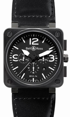 Bell & Ross BR01 BR 01-94 Black Band Watch