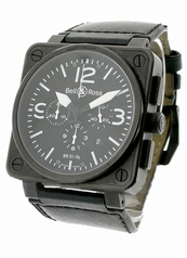 Bell & Ross BR01 BR-01-94-BLK-CAR-LS Automatic Watch