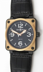 Bell & Ross BR01 BR01-92-SR Mens Watch