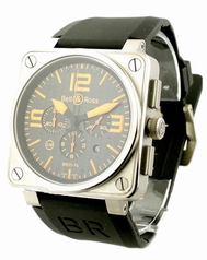 Bell & Ross BR01 BR01-94-T0 Mens Watch