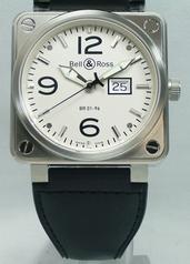 Bell & Ross BR01 BR01-96 MeterDate Mens Watch