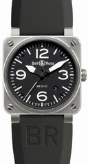 Bell & Ross BR03 BR 03-92 Mens Watch