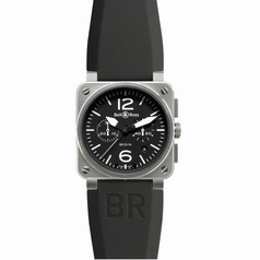 Bell & Ross BR03 BR 03-94 Rubber Band Watch