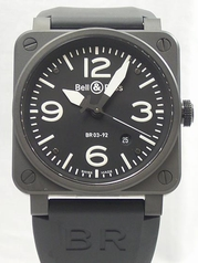 Bell & Ross BR03 BR03-92-CA Mens Watch