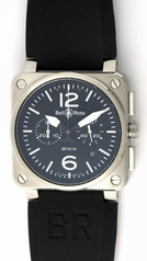Bell & Ross BR03 BR03-94-S Mens Watch
