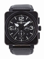 Bell & Ross BRS BR-01-94-CARBON Mens Watch