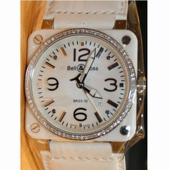 Bell & Ross BRS BR-S Beige Band Watch