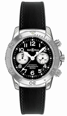 Bell & Ross Classic Diver 300 Black and White Mens Watch