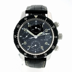 Bell & Ross Classic Pilot Chronograph Manual Wind Watch