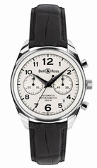 Bell & Ross Geneva Geneva 126 White Dial Watch