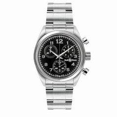 Bell & Ross Medium Medium Chronograph Black Dial Watch
