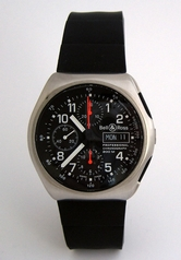 Bell & Ross Professional SPACE 3 BLACK Mens Watch