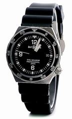 Bell & Ross Professional Type Demineur Black Quartz Watch