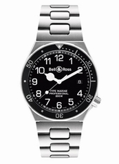 Bell & Ross Professional TYPE MARINE Black Dial Watch
