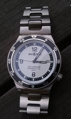 Bell & Ross Type Type Demineur White Mens Watch