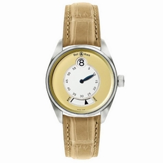 Bell & Ross Vintage 123 Jumping Hour White Dial Watch