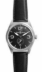 Bell & Ross Vintage BR 123 Original Black Mens Watch
