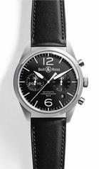 Bell & Ross Vintage BR 126 Black Mens Watch