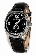 Bell & Ross Vintage V123-BL Mens Watch