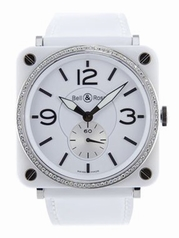 Bell & Ross Vintage WHITE-DIAMOND Ladies Watch