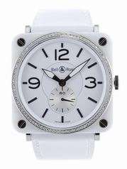 Bell & Ross Vintage WHITE-DIAMOND Ladies Watch