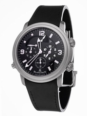 Blancpain Leman Alarm GMT 2041-1230-64b Mens Watch