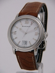 Blancpain Leman Ultraflach 2150-1127-53B Mens Watch