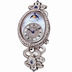 Breguet Reine de Naples 8909bb/vd/j29/ddd0 Ladies Watch