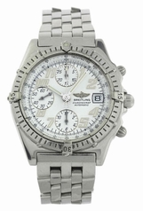 Breitling Chronomat A13050.1 White Dial Watch
