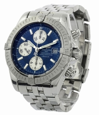 Breitling Chronomat A13356 White Band Watch