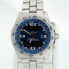 Breitling Digital A68362 Mens Watch