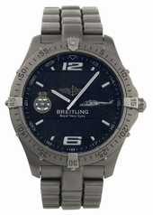 Breitling Montbrillant A41370 Mens Watch