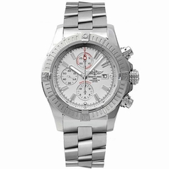 Breitling Super Avenger A1337011/A660 White Dial Watch