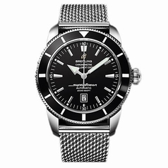 Breitling SuperOcean A1732024/B868 Black Dial Watch