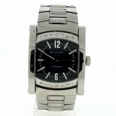 Bvlgari Assioma AA44C14SSD Black Dial Watch