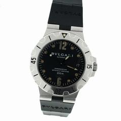 Bvlgari Diagono SD38 S Beige Band Watch