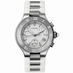 Cartier Must 21 W10197U2 Mens Watch