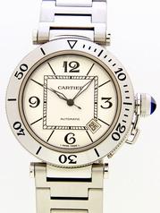 Cartier Pasha W31080M7 Mens Watch