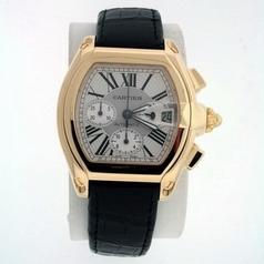 Cartier Roadster W62021Y3 Silver Dial Watch